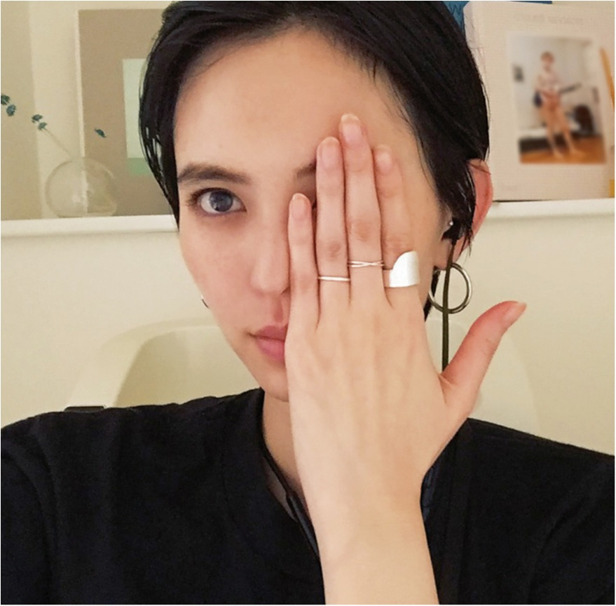 シンプル派・比留川游のシルバーアクセ☆【モデルのオフショット:モテアイテム編】