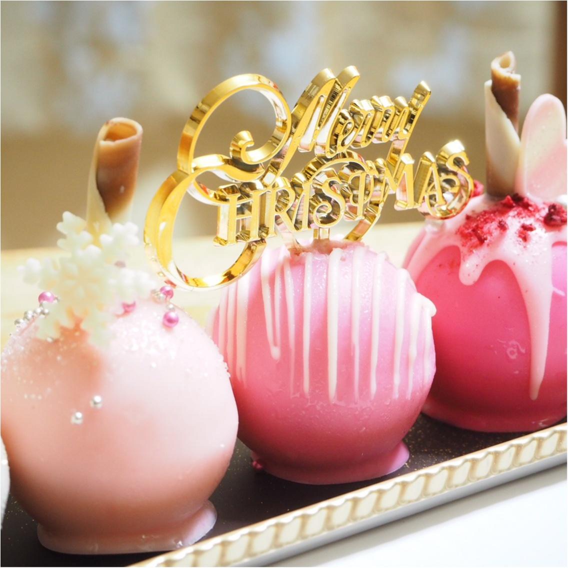 女子会に♡品川プリンスホテルの球体型クリスマスケーキ♡_4