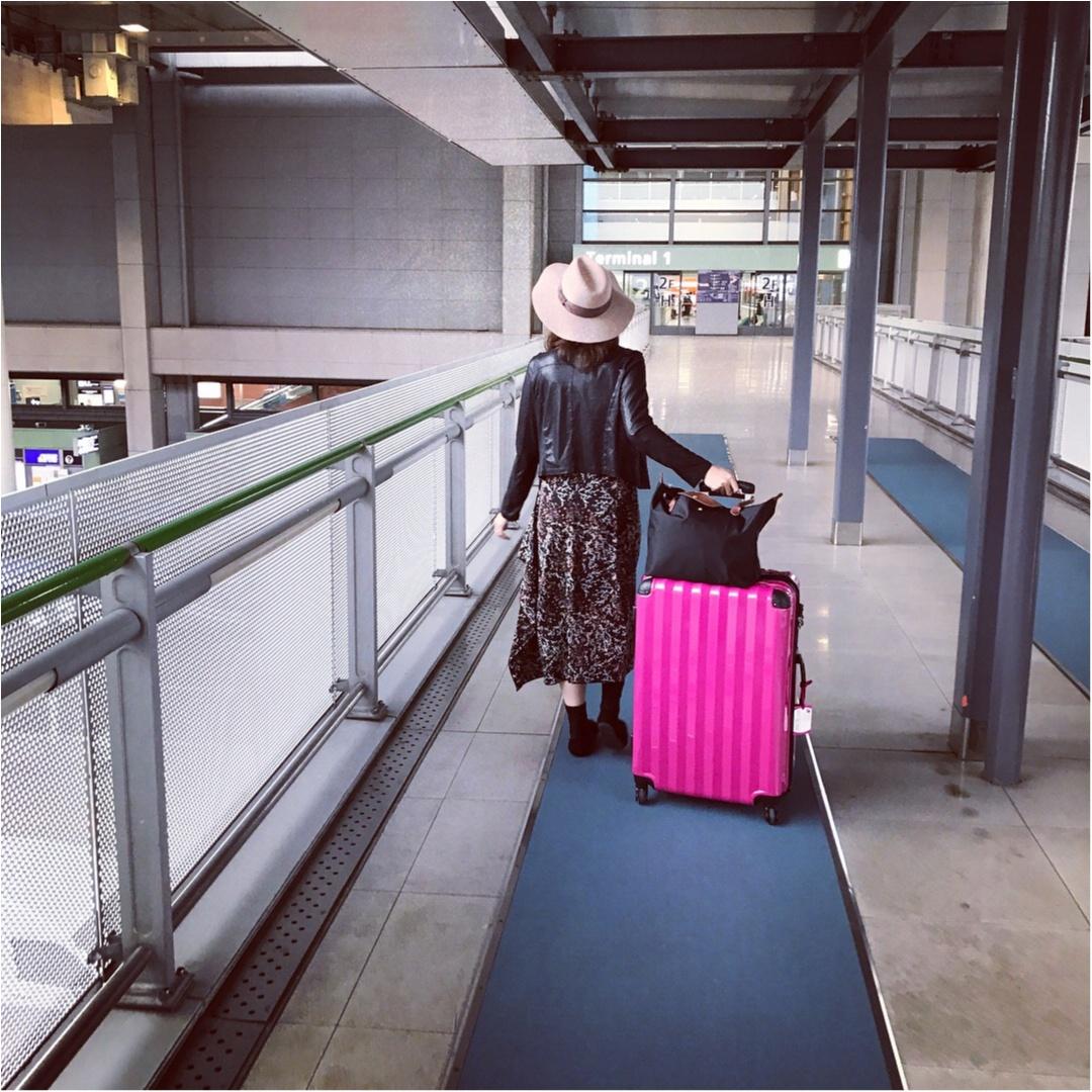 【travel】旅行におすすめのバッグやパッキング術、機内での服装など。役立つ情報をご紹介!_1