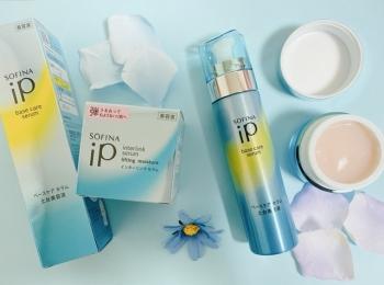 \新提案/いきなり2つの美容液♡ソフィーナipのダブル美容液システムで時短で美肌ケア