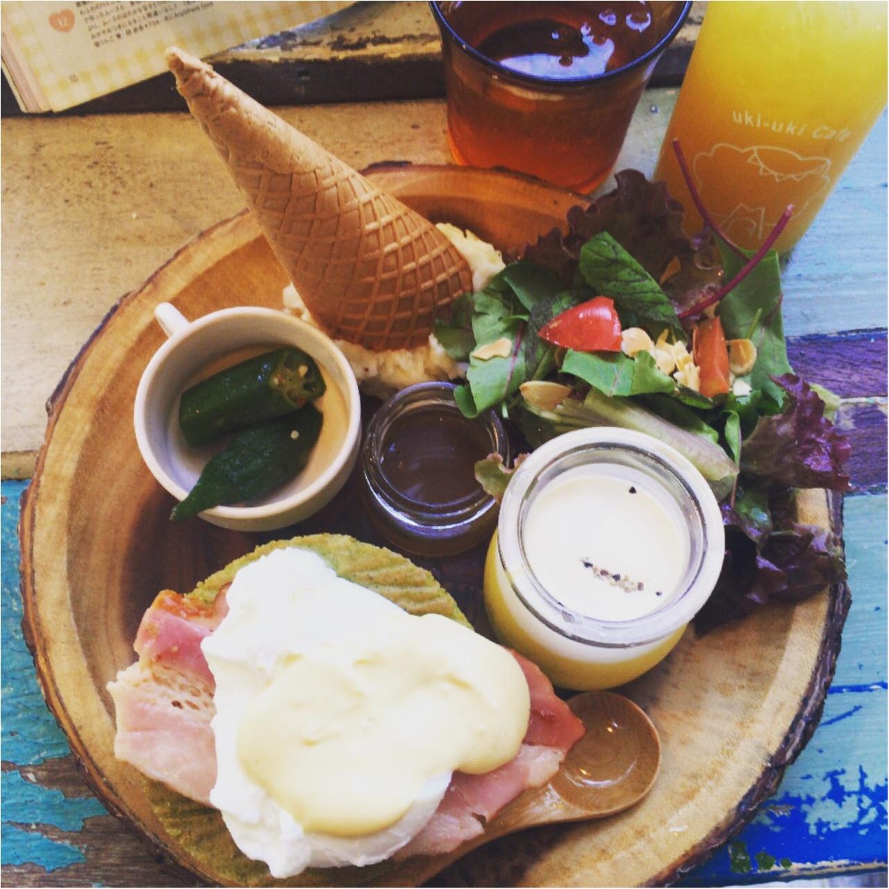 代官山でおしゃれピクニック気分が楽しめる!♡ステキなカフェにランチへ行ってきました♡_3
