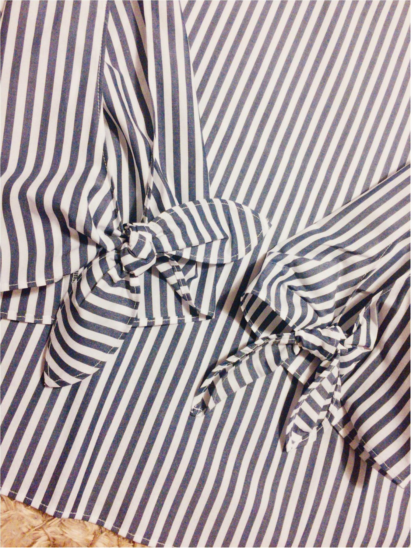 ♡イロチ買いしちゃいました!【GU】のリボン袖ブラウスが可愛すぎる♡_3