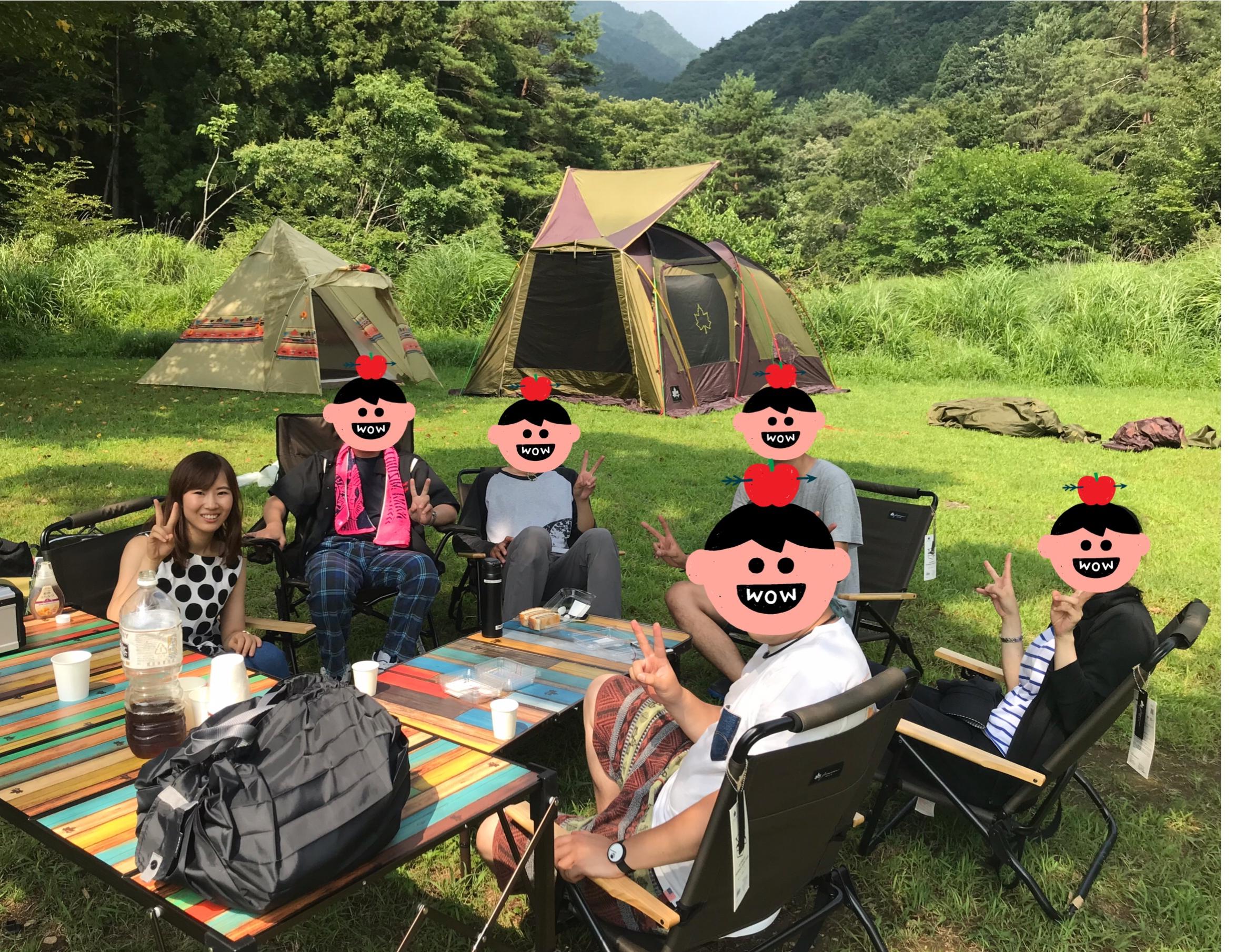 【富士五湖】西湖で最高!(笑)サマーキャンプ☆_3