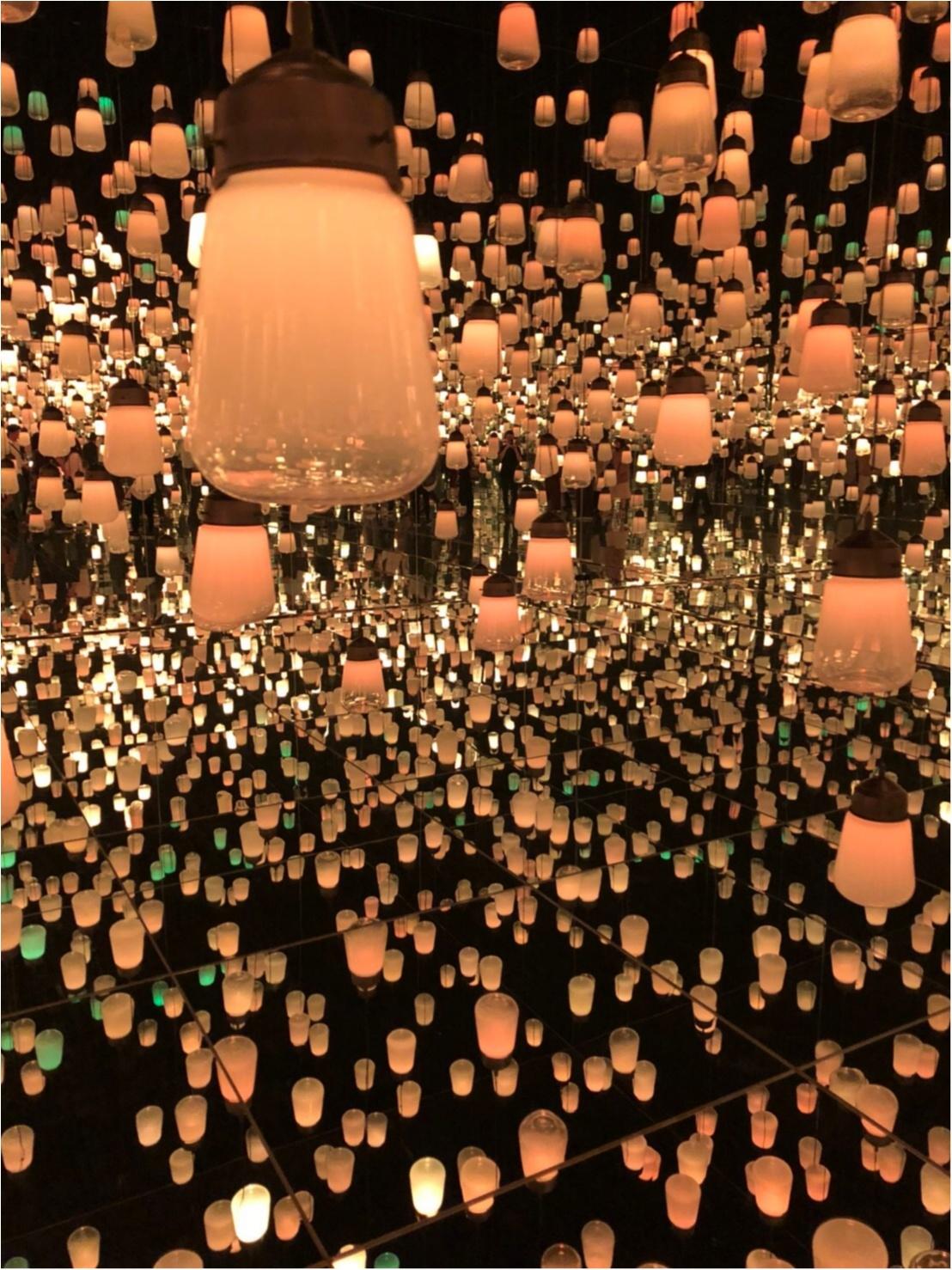 【チームラボ】お台場で開催中『ボーダレス』ランプの森が幻想的すぎる!_7
