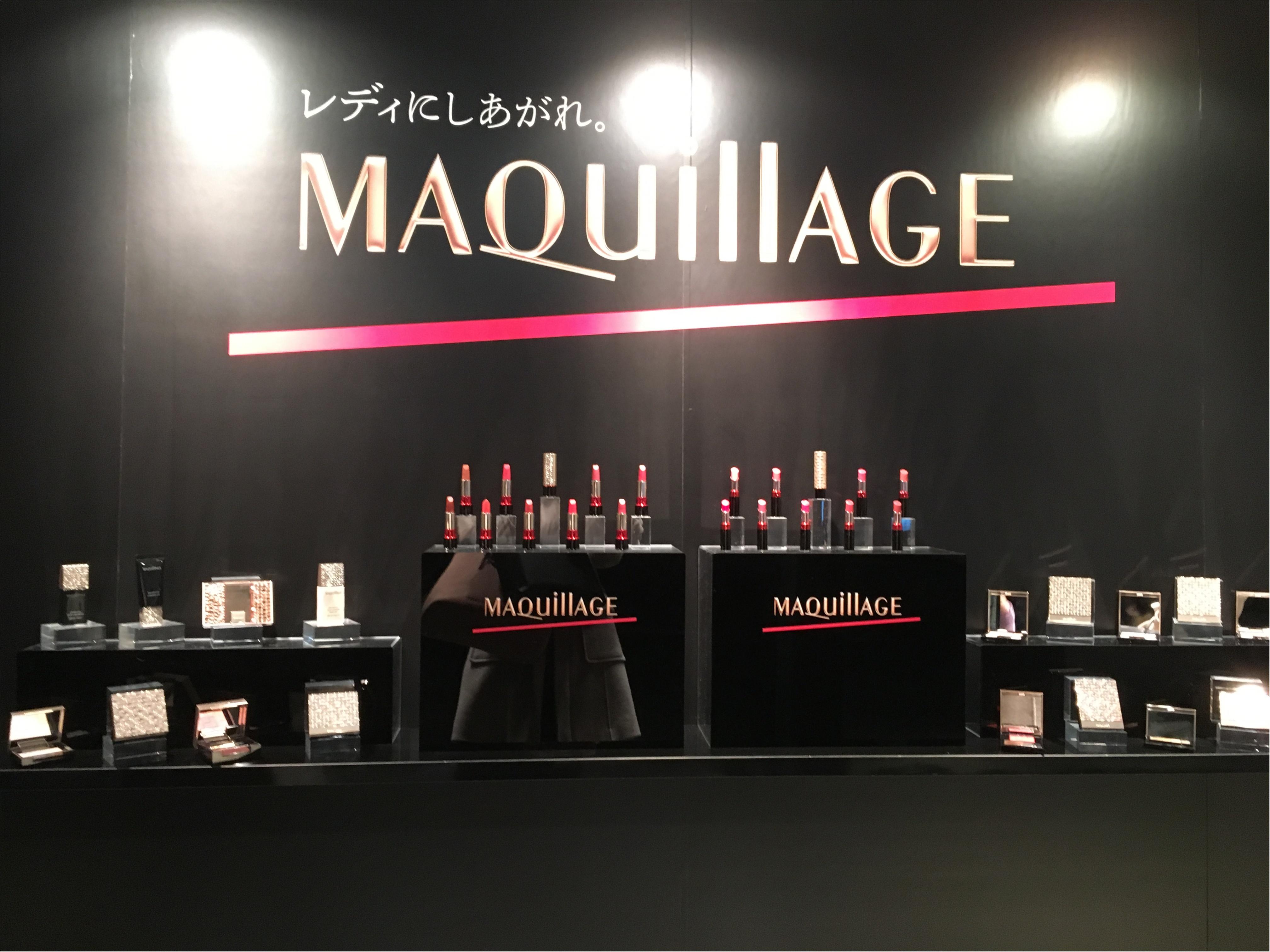 【資生堂MAQuillAGE(マキアージュ)】乃木坂46白石麻衣さんも登場♡Lady Moment Partyで「レディにしあがれ。」_6