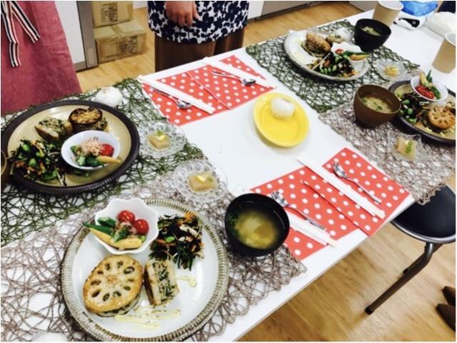 【料理教室】プロサッカー選手の夫を支える料理上手★中村明花さんの料理教室に参加してきました♡♡_2