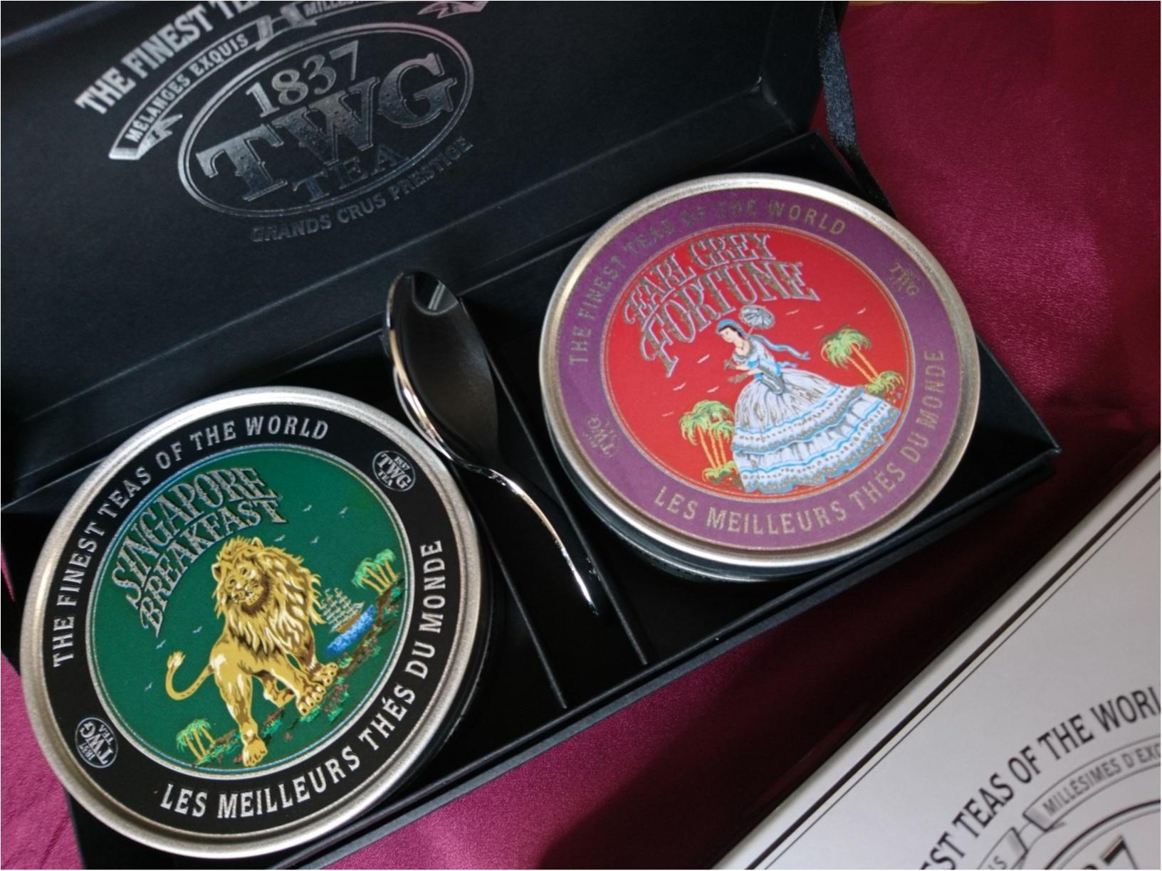 ≪海外旅行/シンガポール/お土産編≫ばらまき&自分用に。TWGの香り高い紅茶がおススメ!_6