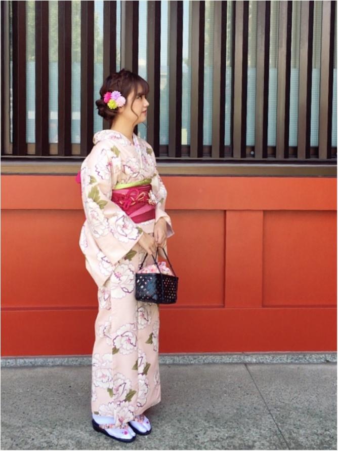 【レンタル着物】を着て浅草を満喫しました♡_2