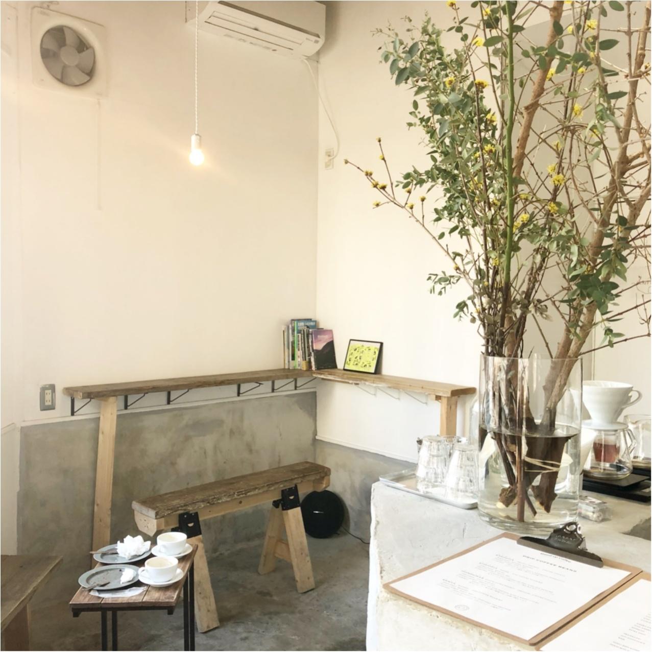 福岡で見つけたおしゃれカフェ♡  たっぷりのあんバタートーストとコーヒーが絶品なんです♡_2