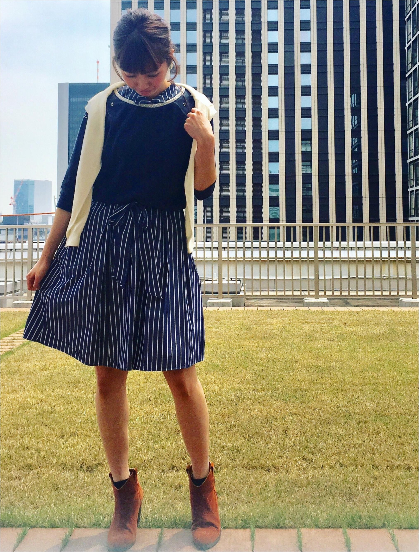 2017夏のトレンド☆ストライプ柄☆Flower Daysのストライプ柄のワンピースがかわいい♡_5