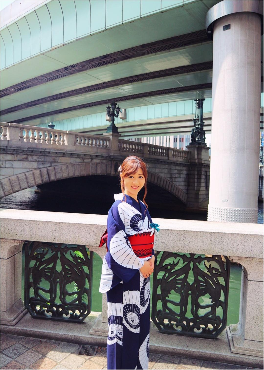浴衣で舟遊び♡いまホットな東京のランドマークをめぐる日本橋クルーズ☻_7