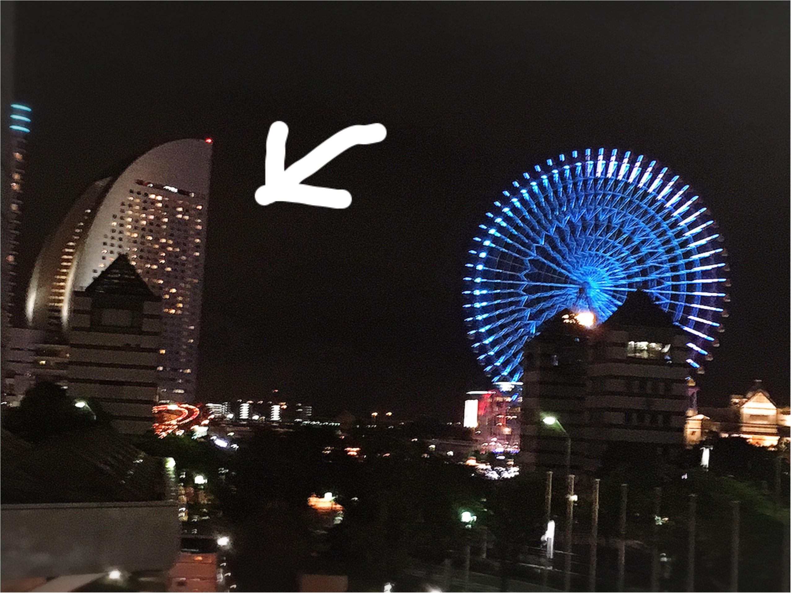 横浜の景色のココ!インターコンチネンタルのビアガーデンに行ってきました♡_1