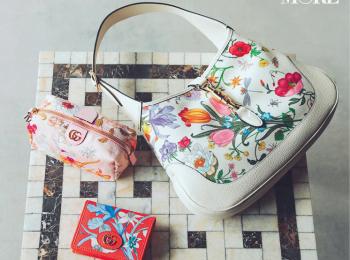 花ざかりな『グッチ』のバッグに、新しい季節の幸せを詰め込んで♡