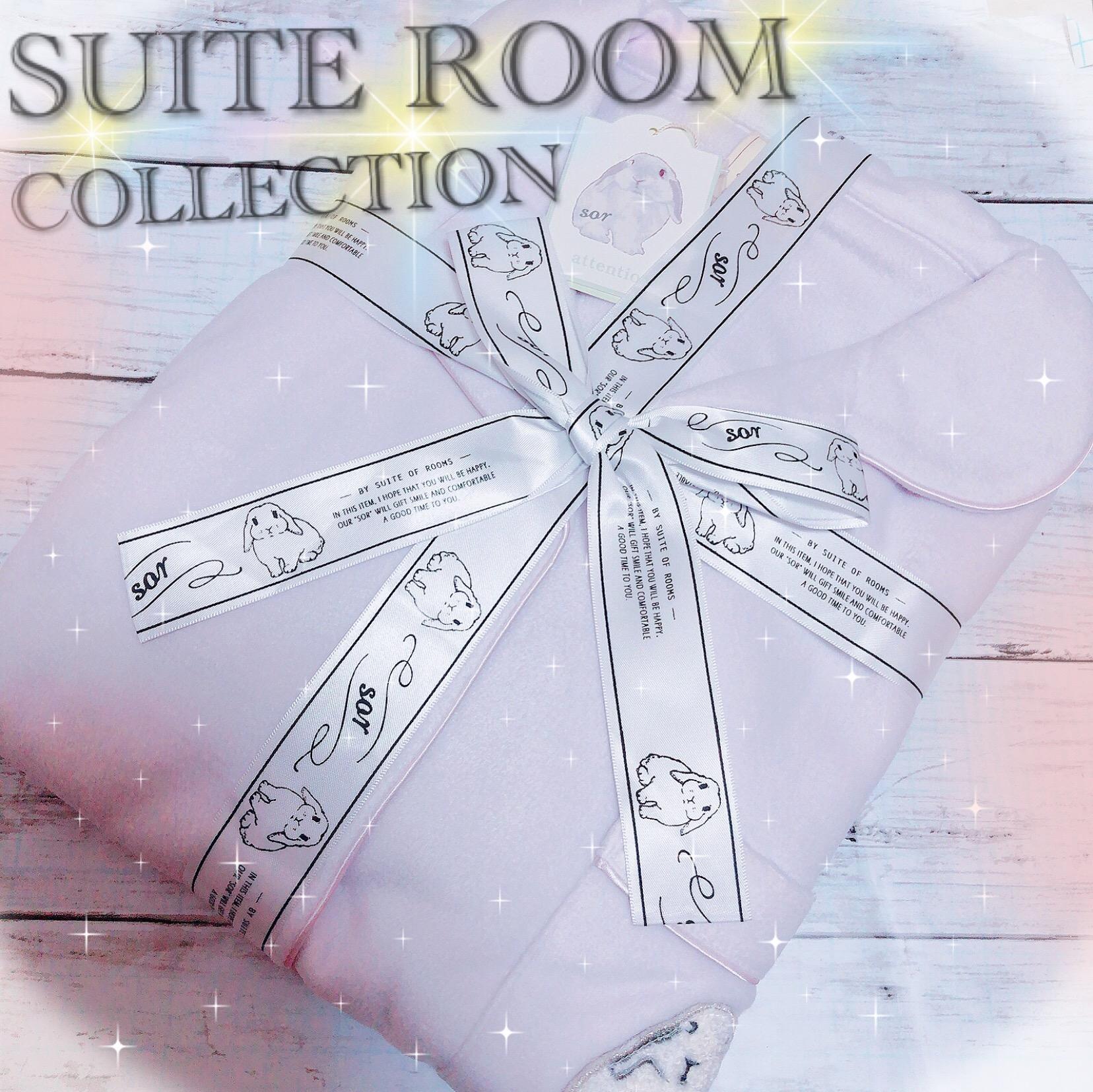 うさぎさんが可愛い♡Suite of rooms スイートルームコレクション★うさぎの刺繍 フリース ワンピース♡_1