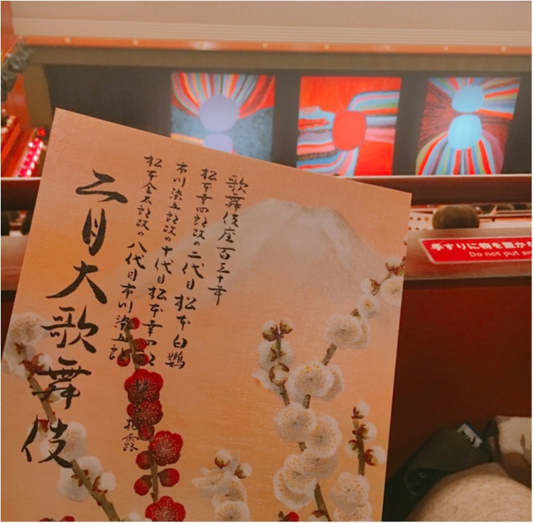 【歌舞伎のススメ其の2】祝・高麗屋三代襲名!歌舞伎座開場130周年の幕開けを飾る『壽春大歌舞伎』、そして、草間彌生さんの祝幕に見守られた『二月大歌舞伎』!_8