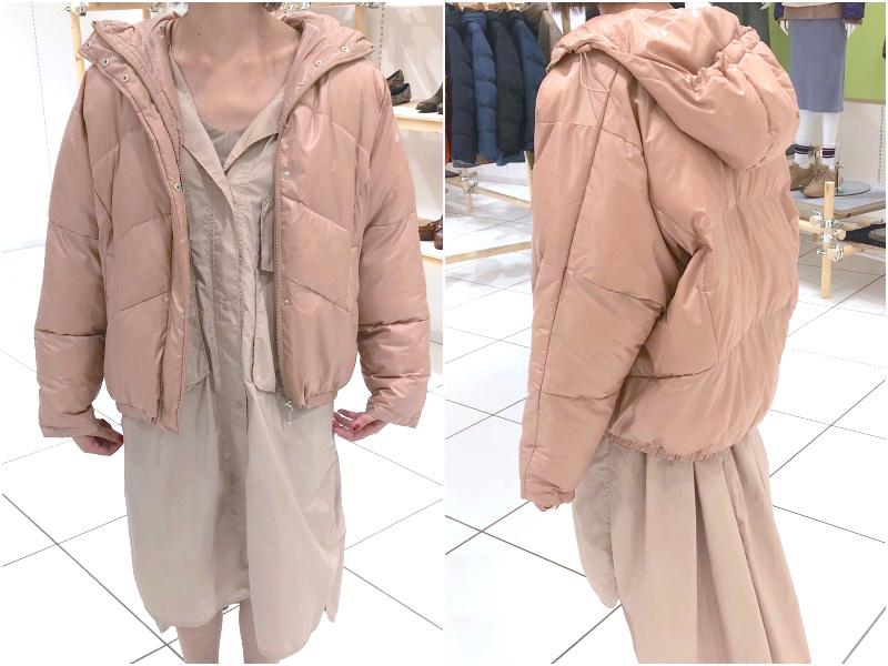 『GU』2019秋冬展示会でアウター祭☆ シャツジャケット、チェック柄、もこもこも全部着てみました!_12