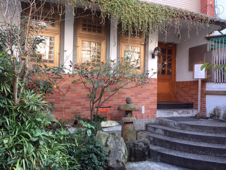 台湾女子旅におすすめ♪ 抹茶スイーツ専門店『平安京茶事』の入り口