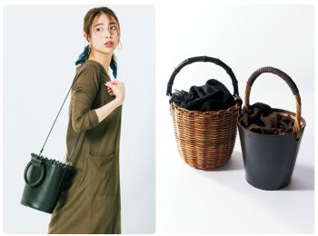 バケツ型バッグ特集《2019年版》- まだまだ人気継続中! かごバッグなどを使ったおしゃれなコーデまとめ