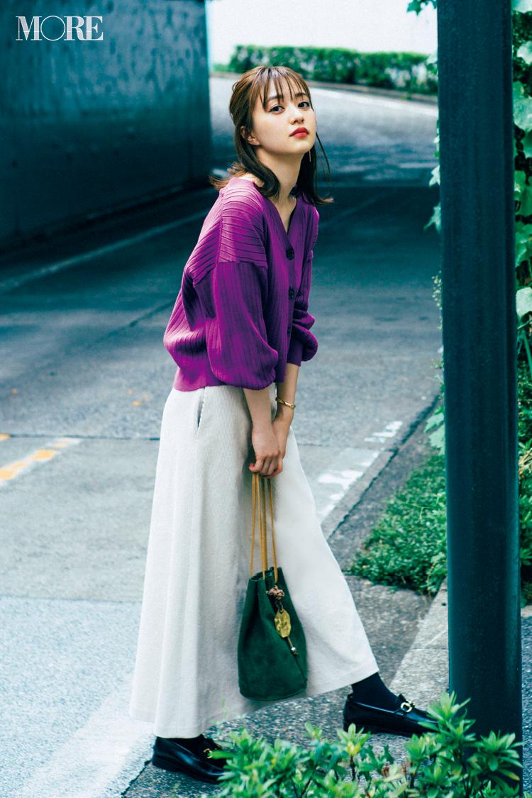 2018年秋のファッション ニット46