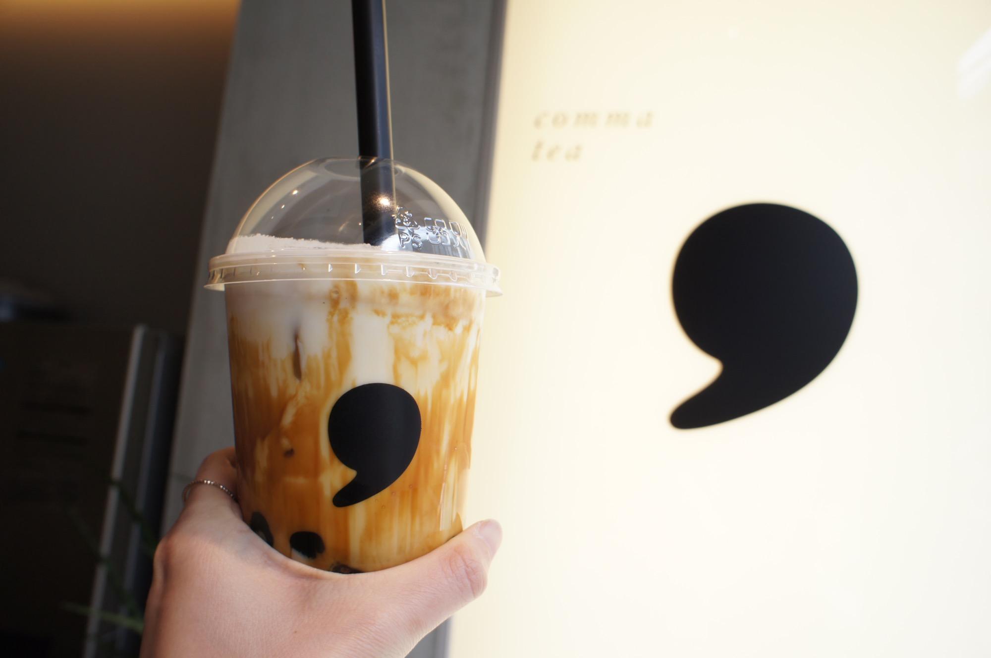 《#東京カフェ巡り》大人向けのタピオカティー【comma tea(コンマティー)】が表参道にオープン❤️☻_3