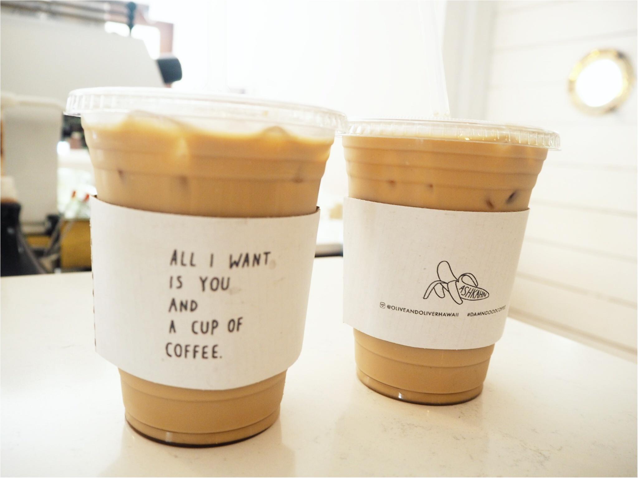 ハワイ/ホノルルをおさんぽ♪カップがかわいいと話題のコーヒースタンド♡_10