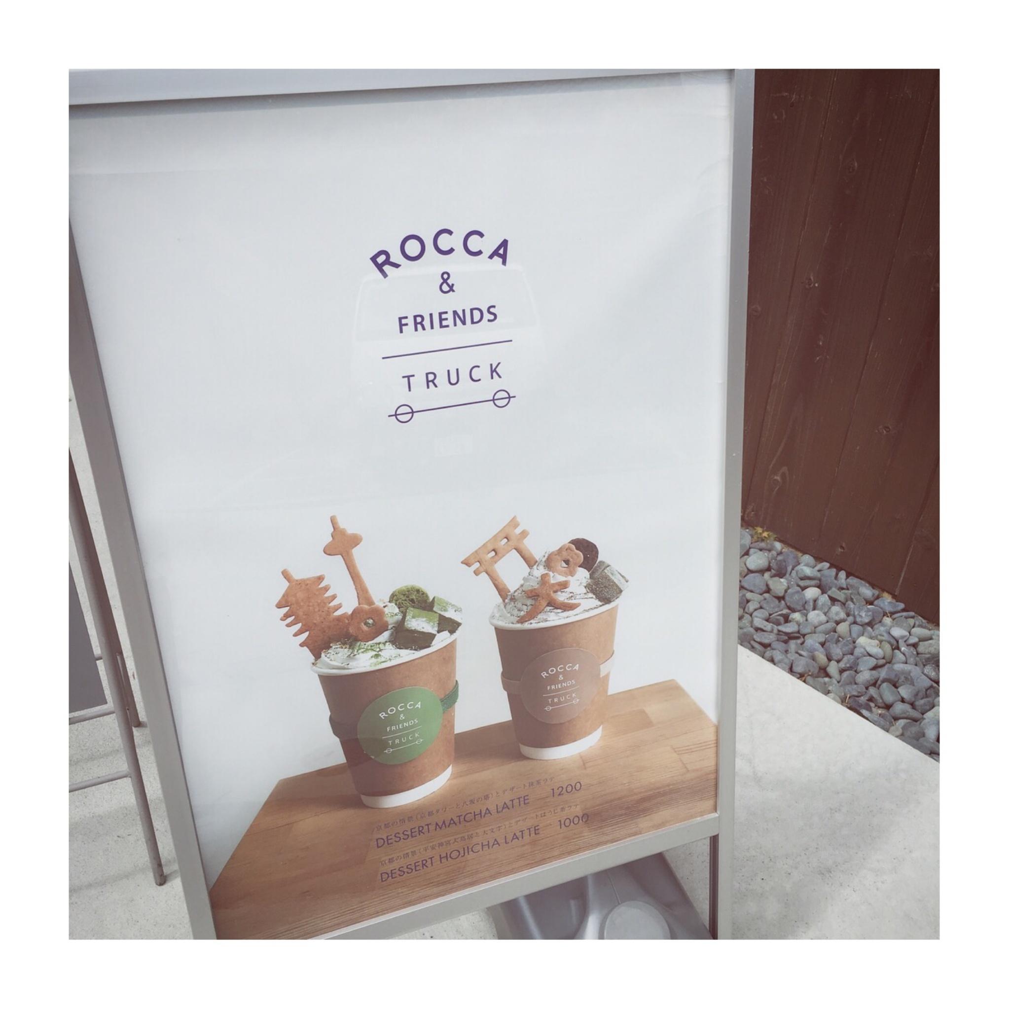 #5【#cafestagram】❤️:《京都》に行ったら絶対飲みたい!ROCCA&FRIENDS TRUCKの抹茶ラテがかわいすぎる◡̈_2