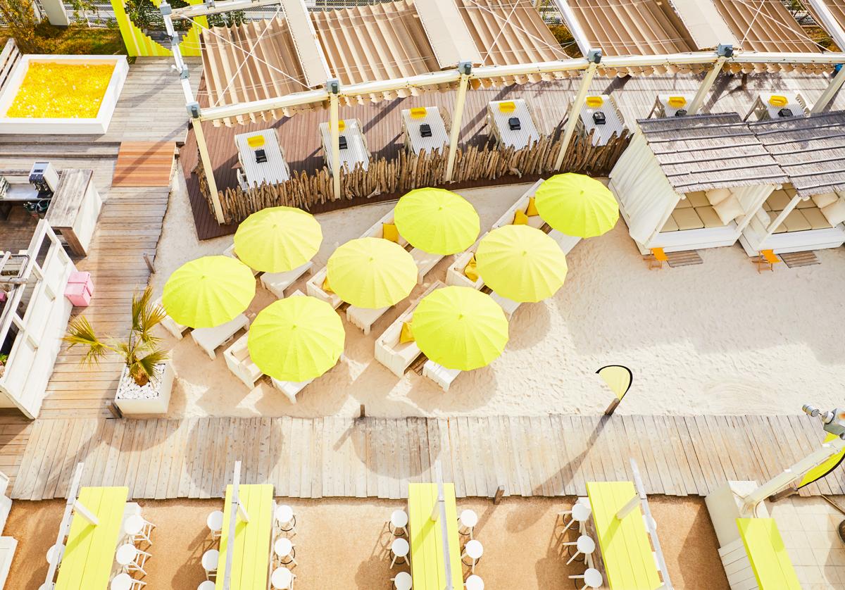 「ルミネエスト新宿」の屋上『ワイルドビーチ 新宿』は、カフェ利用もできるって知ってた?【#ビアガーデン 2019 東京】_1