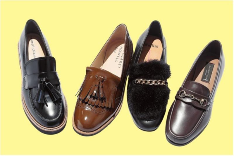 ローファー,フラット靴