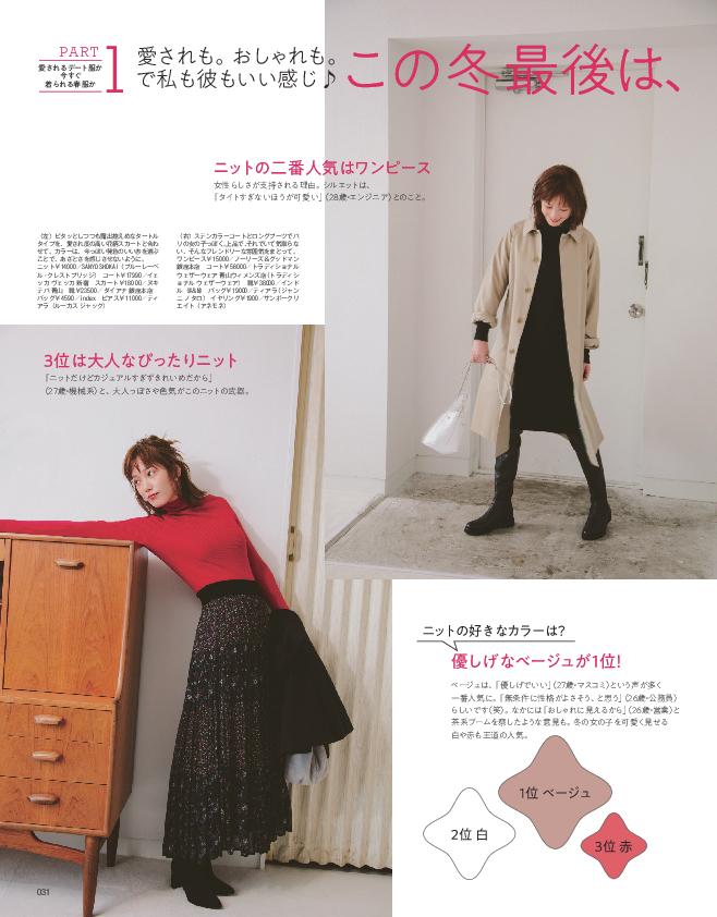 この冬最後は、欲張りなデート服でいこう(2)