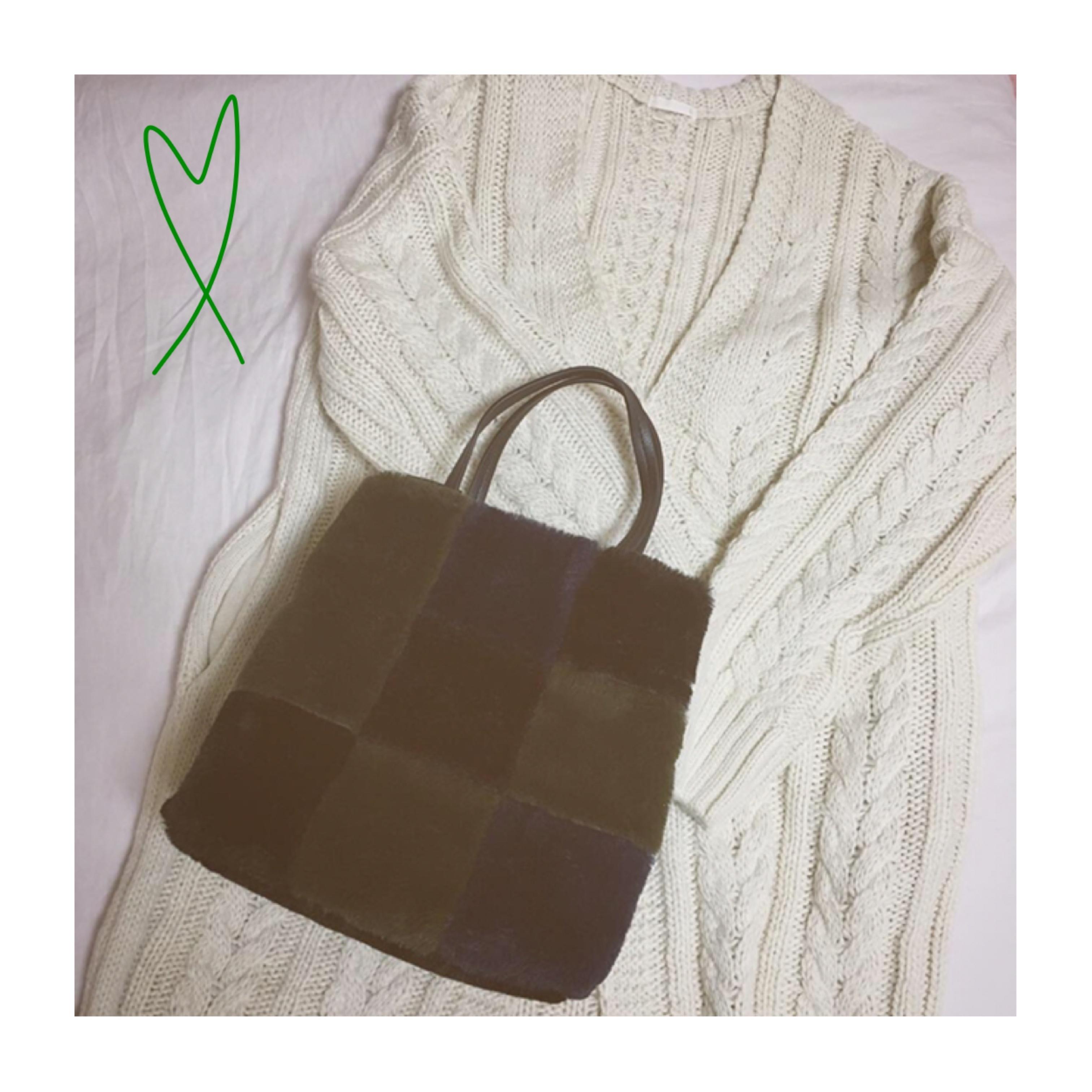 《ザラジョ必見❤️》褒められアイテム✌︎【ZARA】の2WAYファーバッグが高見えで可愛すぎる!_1