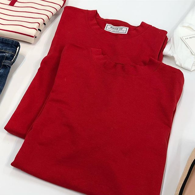 真っ赤なTシャツも、きれいなタイトスカートも♡『ルージュ・ヴィフ』の展示会【 #副編Yの展示会レポート 】_1