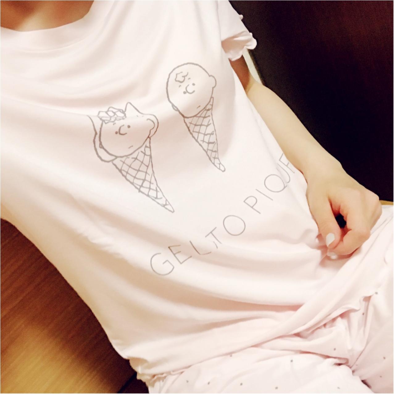 シュールかわいい!?【gelato pique × SNOOPY】のコラボルームウエア♡_3