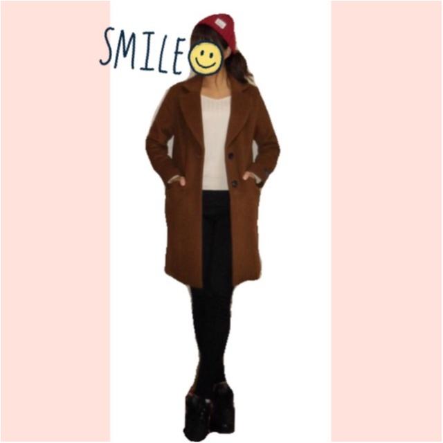 《1つは持っていたい!定番チェスターコート✨》メリノウール使用で暖かい‼スタイリッシュに着れるチェスターコートを最終SALEで半額でGET♪_3