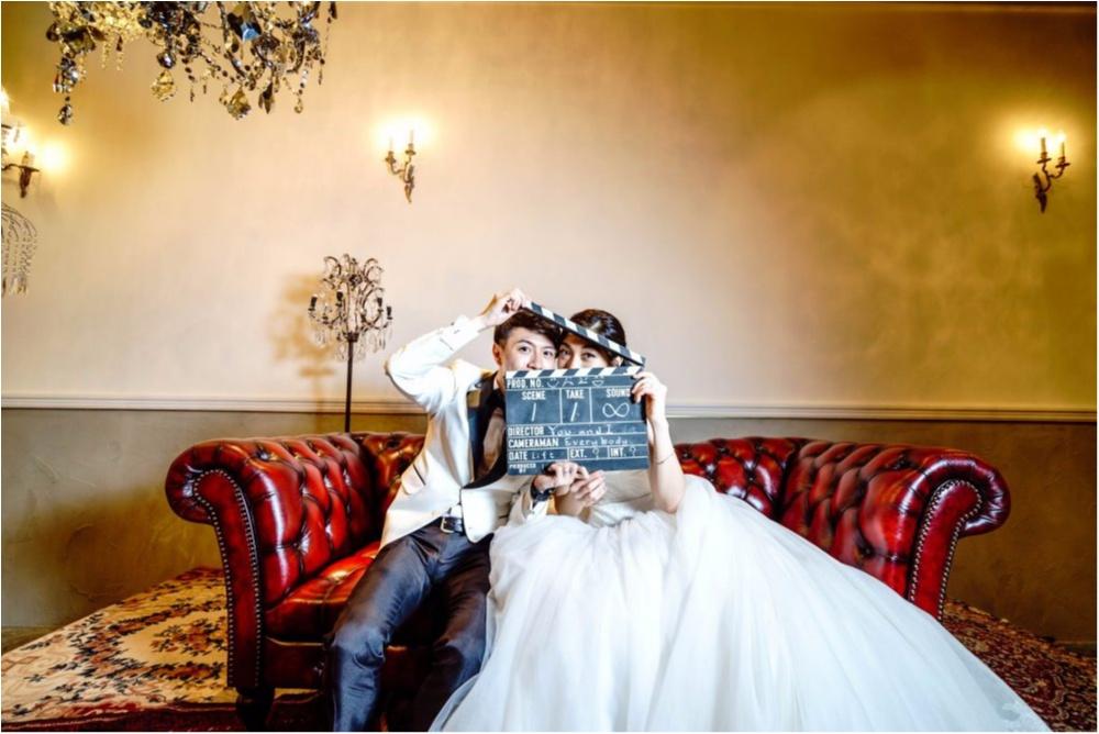 研究室にサッカー場!? 「世界にひとつだけ♡」のオリジナル結婚式が素敵すぎ!_28