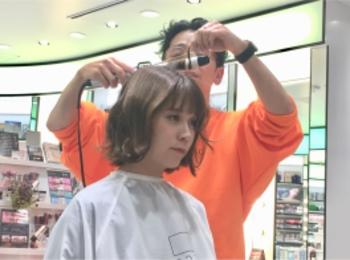 【銀座BeautyU】ヘアスタイリングセミナーでマンネリ解消!?