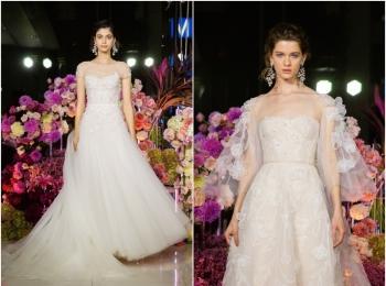 ウェディングドレスの数々にうっとり♡『ノバレーゼ』2020年春夏ブライダルショーを拝見!