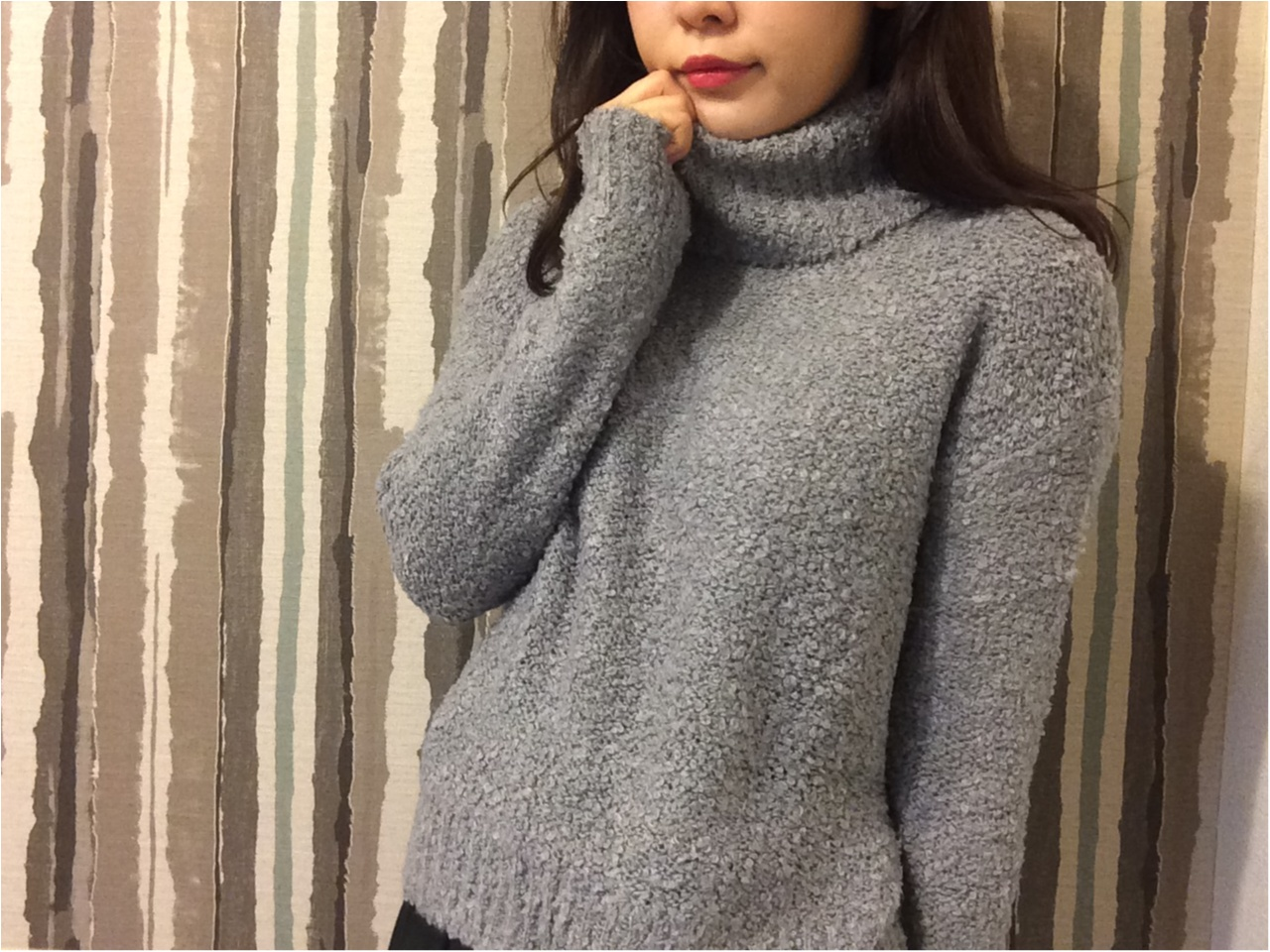【GU】フワモコセーターで寒い冬に備えよう♡_2