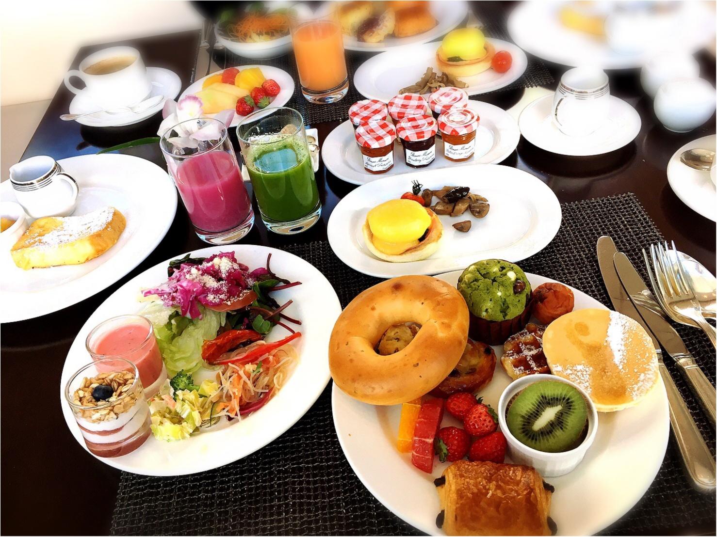平日お休みをとっていこう!コンラッド東京の朝食ビュッフェが最高。4347円→3500円で♡_12