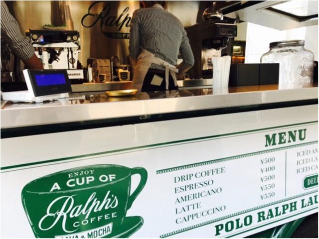 【表参道カフェ】ラルフローレンの移動カフェ《Ralph's COFFEE》が日本に★_3