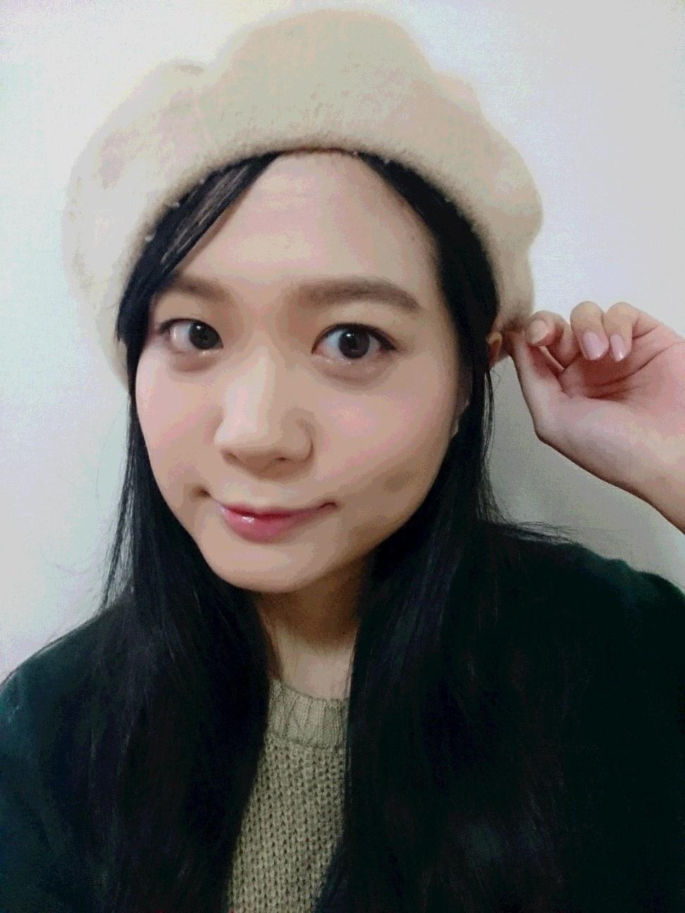 可愛さ&透明度UP☆ ラベンダーカラーチークを使って秋メイク【京都・紅葉編】_5