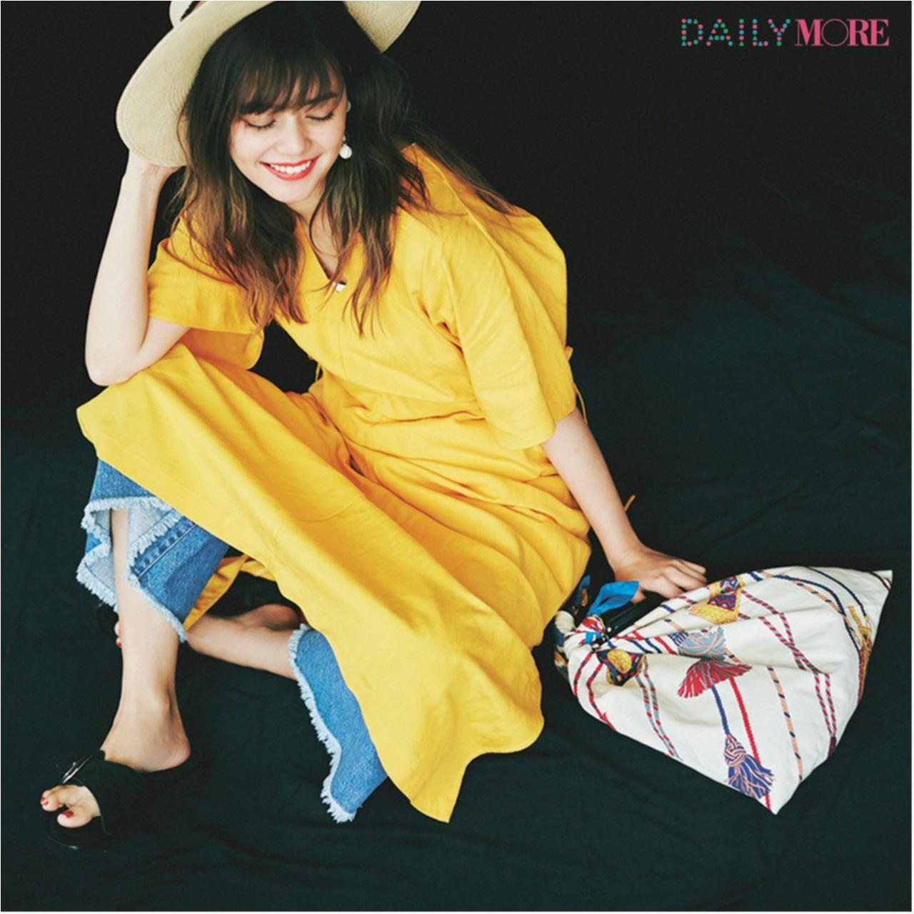 楽してかわいく夏らしく♪ 「サマードレス」コーデまとめ♡_1_9