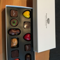 ピエールマルコリーニのチョコレート♪