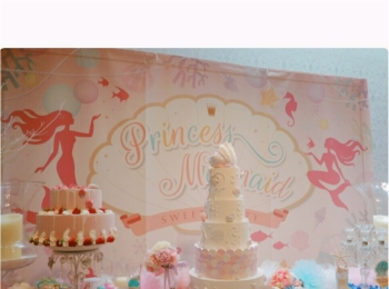 《可愛いすぎる♡♡♡》プリンセスマーメイドスイーツパーティで素敵な時間を♡