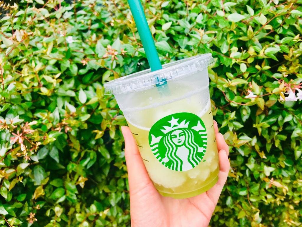 【スタバ新作】待ってた♡夏と言えばフローズンティー!今年は《香る煎茶 × グリーンアップル》❤︎_5
