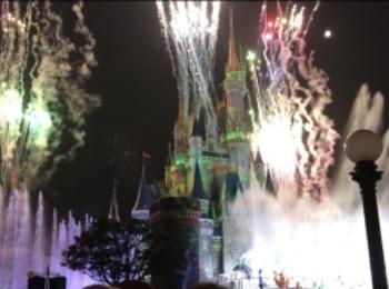 【夏ディズニー】水と炎のナイトショーが綺麗すぎる♡newショー《オー!サマー・バンザイ!》