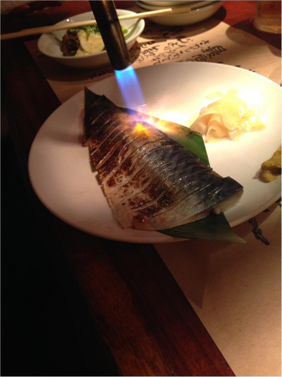 【渋谷の隠れ家料理】汁べゑさんで絶品☆しめ鯖☆_3