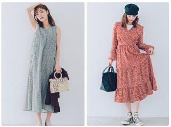 花柄ワンピース特集《2019年夏》- 夏のおすすめワンピースやサマードレス