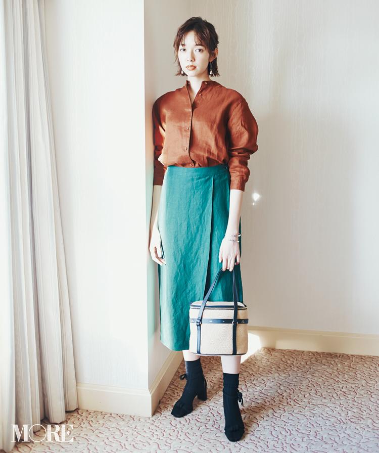 春のシャツコーデ特集《2019年版》- 20代女子におすすめ!オフィスカジュアルにちょうどいい きれいめシャツのコーディネートまとめ_5