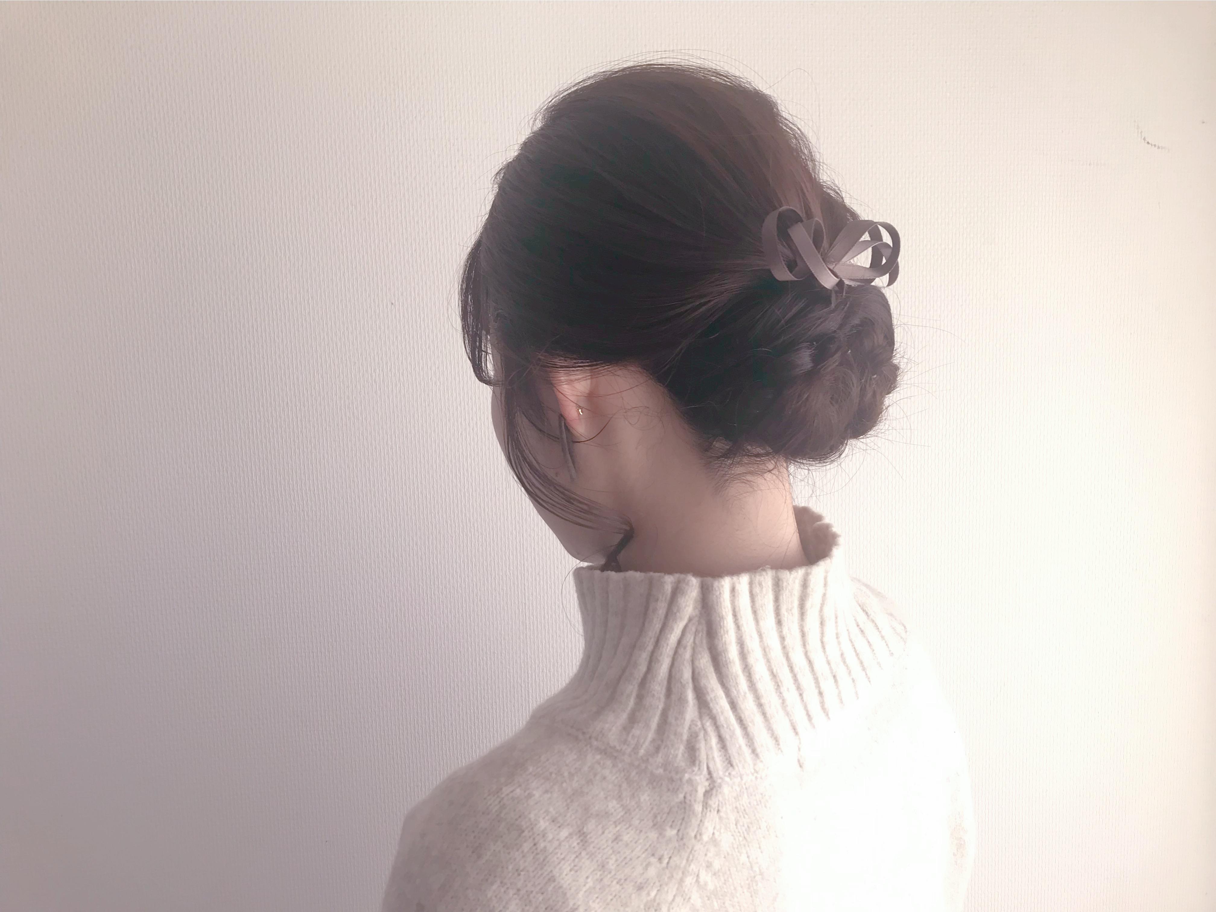 【#3coins】冬気分♡ ベロアシリーズピアスとモカ色ヘアアクセが可愛い!_1