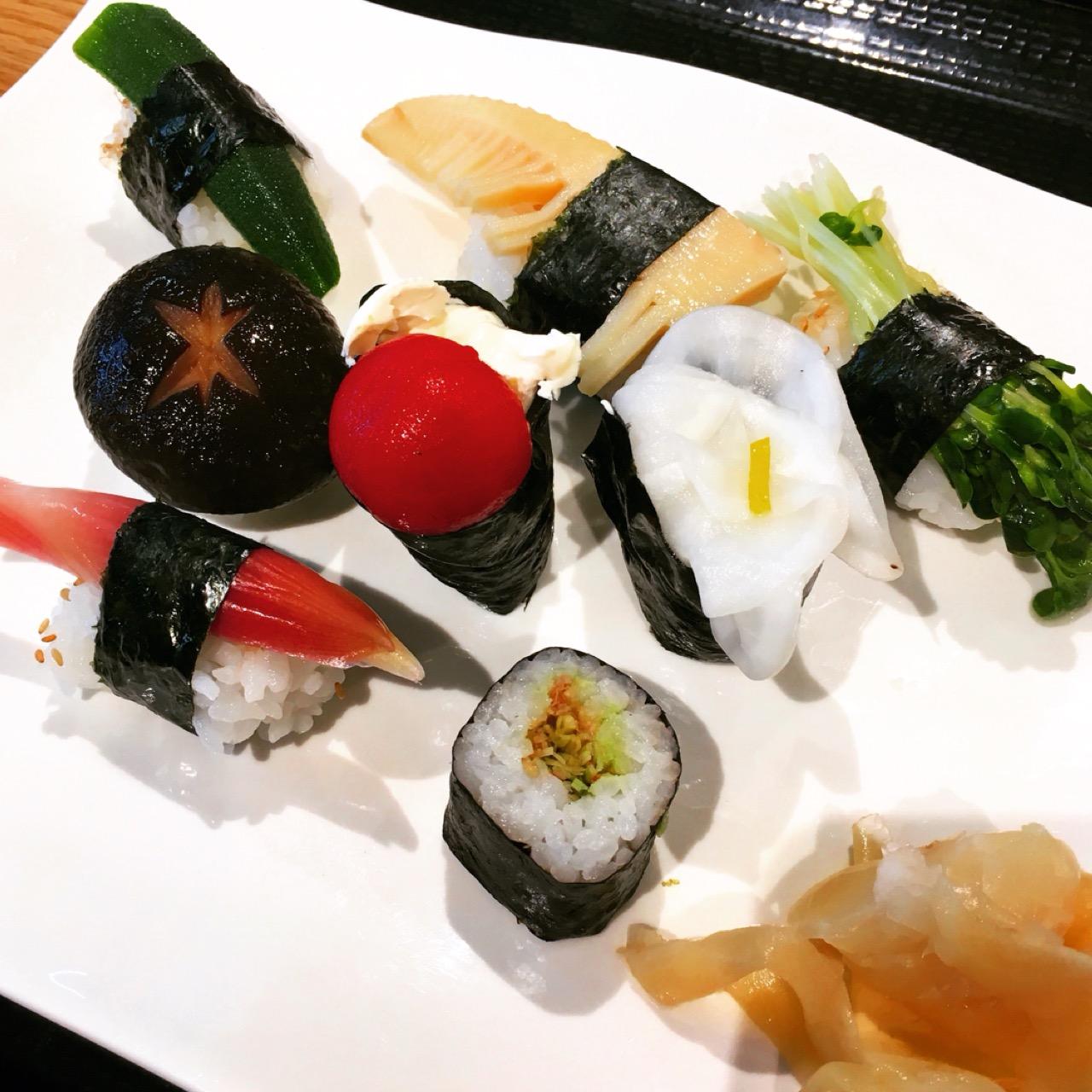 お魚が苦手でも大丈夫!フォトジェニックな野菜のお寿司を食べてきました♡_1